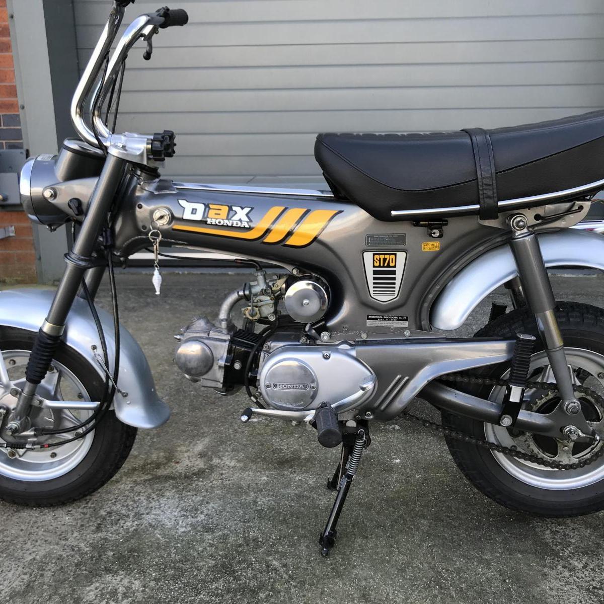 Never registered Honda ST70 Dax 1977